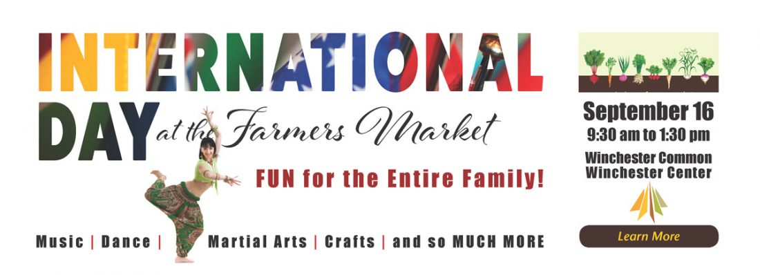 International Day at the Winchester Farmers Market
