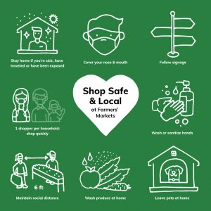 shop safe and local at our market