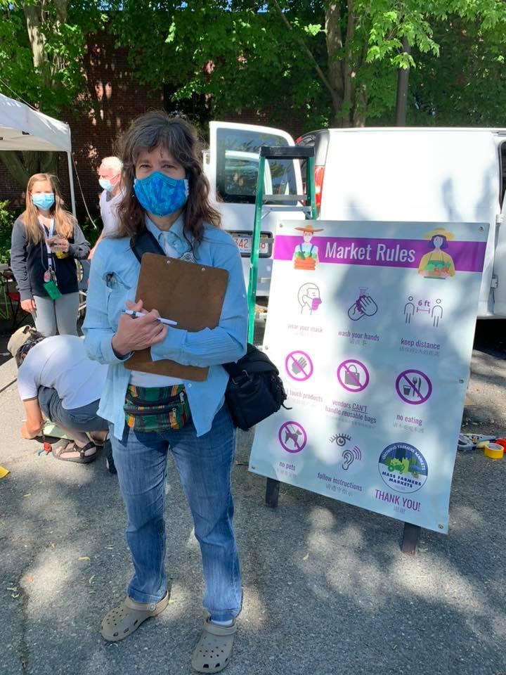 Joyce volunteer greeter